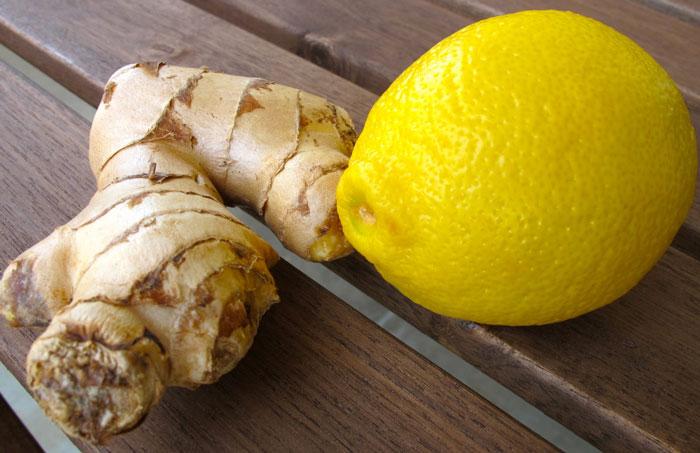 Как сделать корень имбиря с лимоном