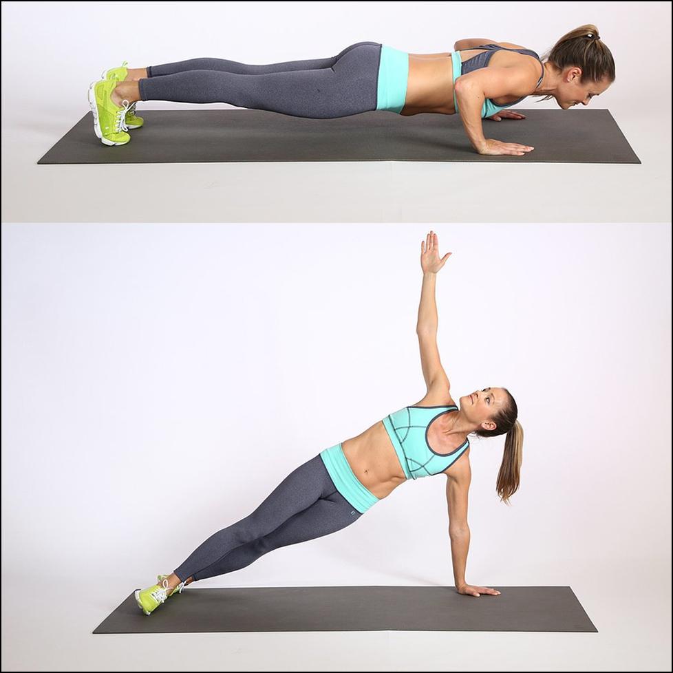 Упражнения на сжигание жира на животе. Программа 99