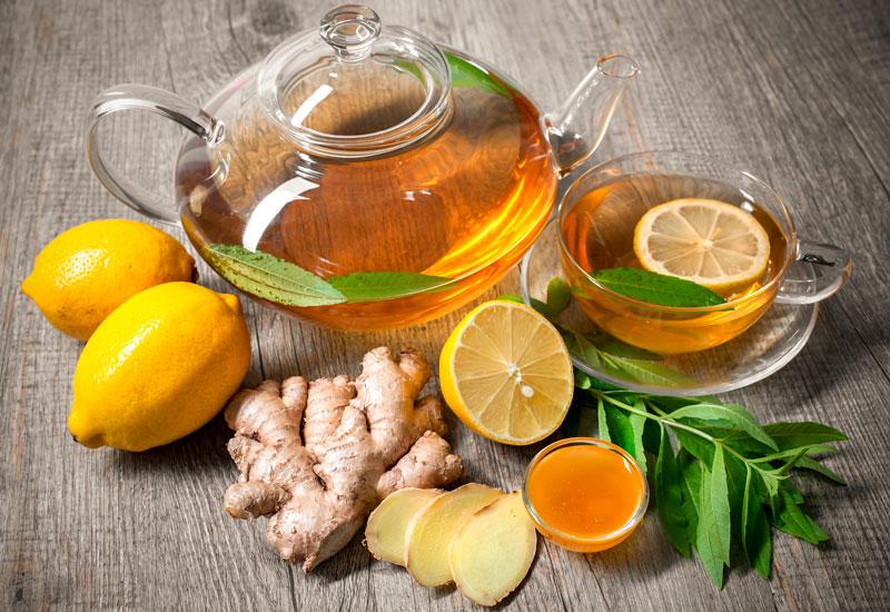 Чай с имбирем полезен для здоровья