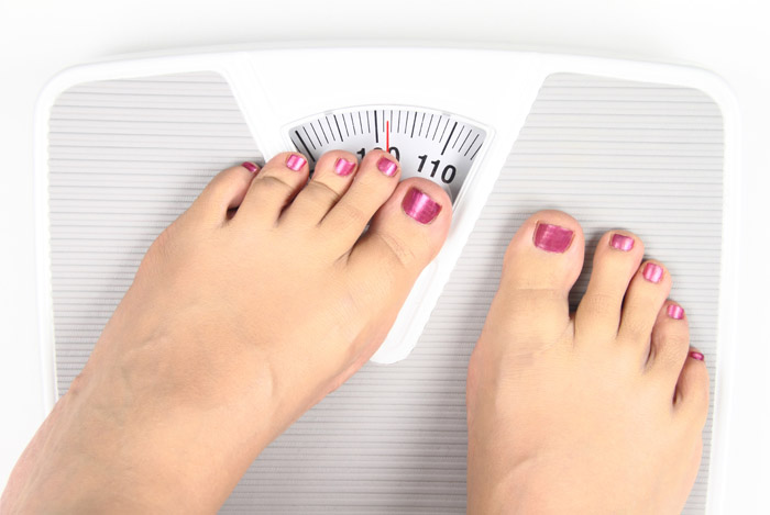 Девушка на весах