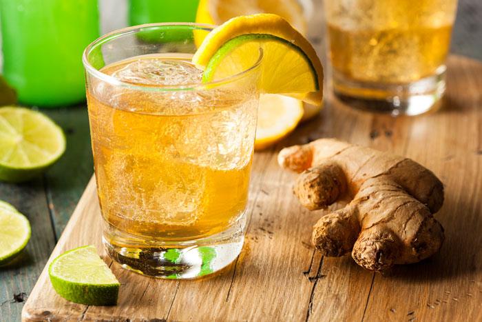 Лимон с имбирем для похудения