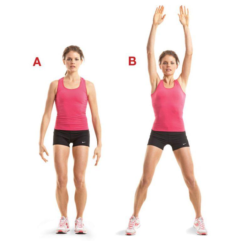 Эффективные прыжки для похудения