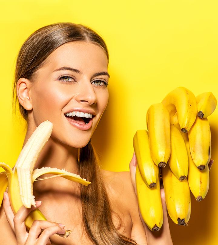Как сделать себе хорошо бананом 862