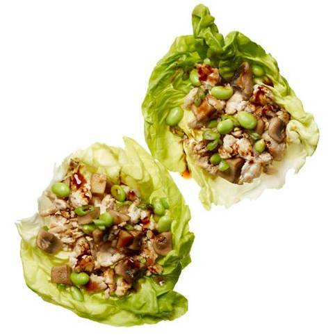 Фаршированные листья салата