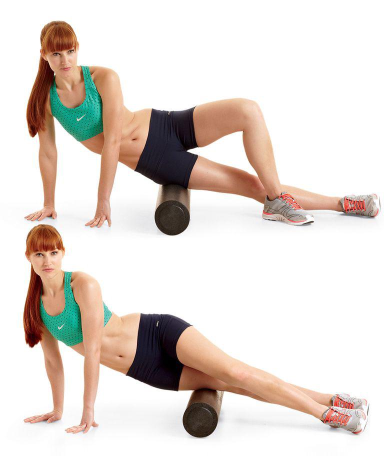 7 лучших упражнений с гимнастическим валиком
